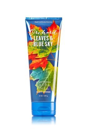 Bath and Body Works Ultra Shea Body Cream Orchard Leaves & Blue Sky 8 Oz.