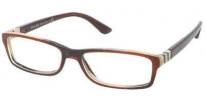 Prada Glasses 09OV EAP101 EAP101 09OV Rectangle Sunglasses