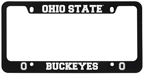 Ohio State University -Metal License Plate Frame-Black