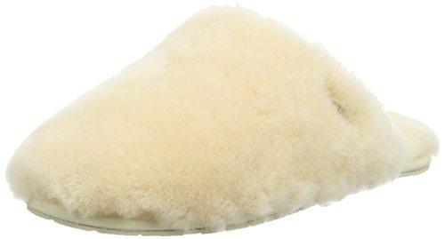 Pantofola Di Zoccolo Di Fluff Da Donna Di Ugg Australia Naturale