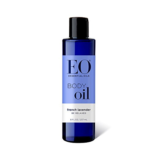 Care French Massage - EO Botanical Body Oil, French Lavender, Massage and Moisturize, 8 Fluid Ounce
