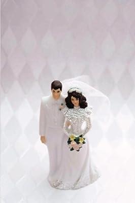Wedding Journal Bride Groom Cake Topper: (Notebook, Diary, Blank Book) (Wedding Journals Notebooks Diaries)