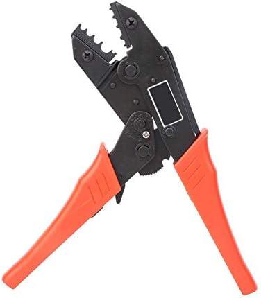 ラチェット圧着プライヤー、高精度ワイヤークリンパ、チューブラー裸端子用の圧着端子圧着工具事前絶縁端子