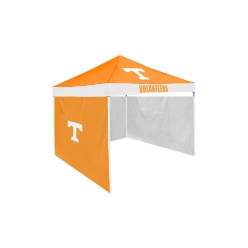 Logo Chair Tennessee Volunteers Ncaa 9' X 9' Economy 2 Logo Pop-Up Canopy Tailgate Tent With Side Wall