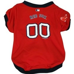 Boston Red Sox Dog Jersey - Large ()