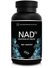 HPN NAD+ Booster - Nicotinamide Riboside Alternative (NAD3) for Men & Women | Anti Aging NRF2 Activator, Superior to NADH - Natural Energy Supplement for Longevity & Cellular Health, 60 Veggie Pills