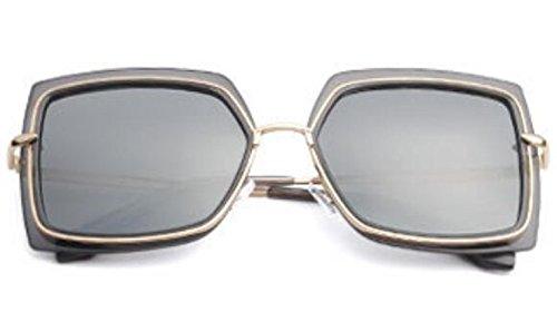 Cumpleaños Sunglasses De Beach MSNHMU Lady De Jogging Regalo Biker Metal Plateado 6WxnTqH
