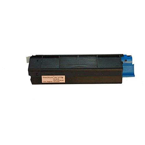 Magenta Premium Toner Cartridge for OKI C5100/C5150/C5200 (OEM #: 42127402