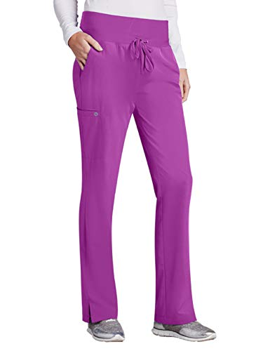 Barco One 5206 Midrise Cargo Pant Bright Violet XL - Violet Womens Bright