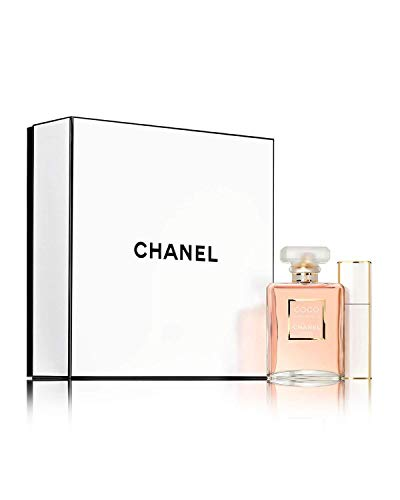 NIB COCO MADEMOISELLE TRAVEL SPRAY SET + Free sample gift ONLY from Xpressurself (Coco Chanel Mademoiselle Eau De Toilette 100 Ml)