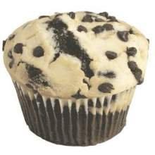 Prairie Coffee House Tuxedo Cream Cheese Chocolate Chip Muffins 5 Ounce  24 per case
