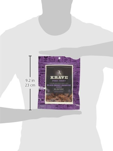 KRAVE Jerky Variety Pack, 3.25-Ounce Bags, Pack of 8