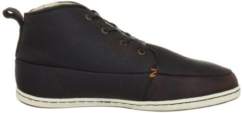 Hub Subway CA-304 L04-02 Herren Fashion Sneakers Braun (Dbn/Wht)