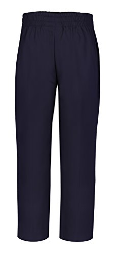 Navy School Uniform Pants (CLASSROOM Little Boys' Uniform Pull-On Pant, Dark Navy, 5)