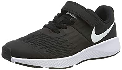 Nike Australia Boys Star Runner (PS) Fashion Shoes, Black/White-Volt, 11 US