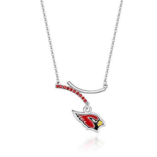 Pro Specialties Group NFL Arizona Cardinals Dual Infinity Necklace ()