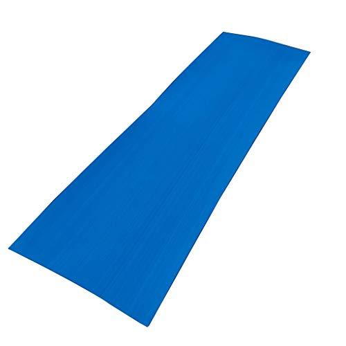 DYNWAVE Versatile EVA Self-Adhesive Faux Teak Sheet Traction Non-Slip Grip Mat for Boat Decks, Marine Yacht Flooring, Vehicle Car, Kayak or Surfboard - Blue