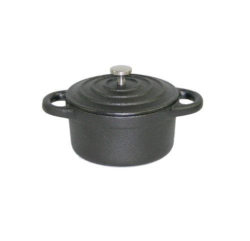 Paderno World Cuisine 0.27-Quart Round Cast-Iron Casserole,