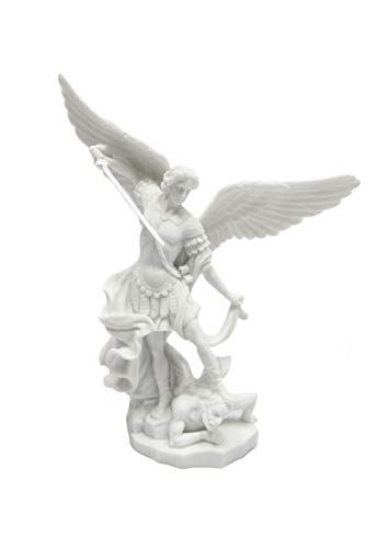- Vittoria Collection Saint St Michael Archangel Italian Statue Sculpture Figurine Guardian Angel Protector Protection Made in Italy 7.5 Inch