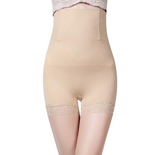 CapsA Shapewear for Women High Waist Tummy Control Panties Seamless Thigh Slimmer Slip Shorts Under Dresses Black