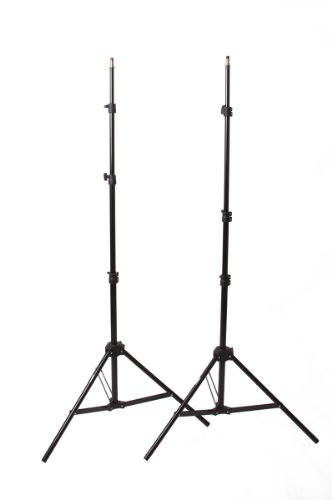 "Fovitec  StudioPRO - 2x 24""x36"" Softbox Lighting Kit w/ 4200 W Total Output - [Pro][Includes Stands, Softboxes, Socket Heads, 10x 85W Bulbs]"