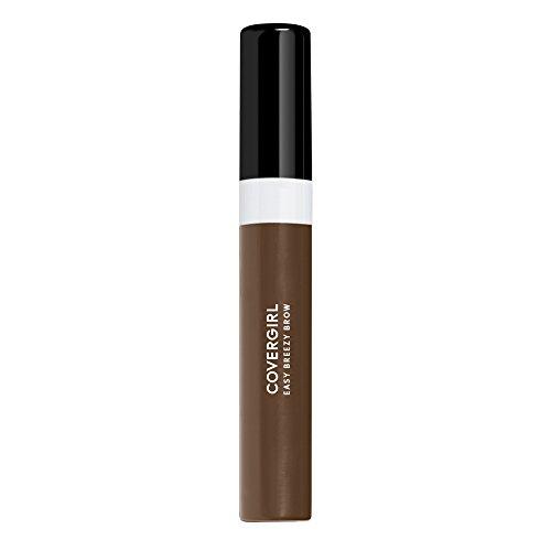 COVERGIRL Easy Breezy Brow Shape & Define Eyebrow Mascara, Soft Brown, 0.3 Fluid Ounce (packaging may vary)