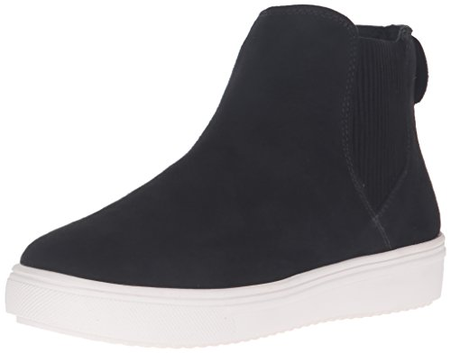 STEVEN by Steve Madden Women's Lazio Fashion Sneaker, Black, 6.5 M US