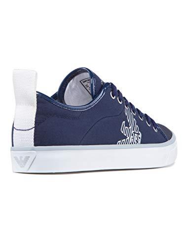 Armani Blu Con Sneaker Donna Emporio Logo dAYBqZ