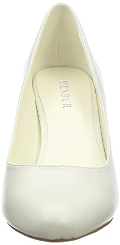 Wedding white Kiara 04 Ivory Off Menbur Shoes Wedding Women's 4WBqBwOU