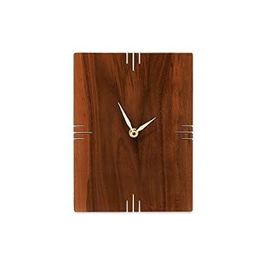 Oscar Wall Clock/Walnut