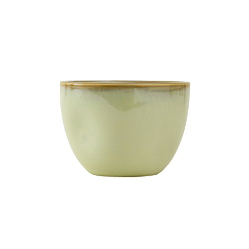 Tuxton Home Artisan Reactive Glaze Bouillon Bowl, 12 1/2 oz, Sagebrush; Restaurant Grade Nonporous Virtrified China; Thermal Shock Tested; Lead and Cadmium Free