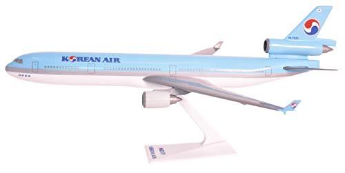 (Korean Air (84-Cur) MD-11 Airplane Miniature Model Plastic Snap-Fit 1:200 Part# AMD-01100H-011)