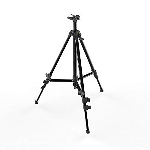 Syrace Art Easel Stand, Fully Adjustable Light Weight Aluminium Folding Easel, 21 inch to 67 inch Adjustable Height with Portable Bag for Drawing and ()