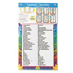 (CDPCD3288 - Carson dellosa Spanish Chartlets Bulletin Board with Six 17 x 22 Charts)