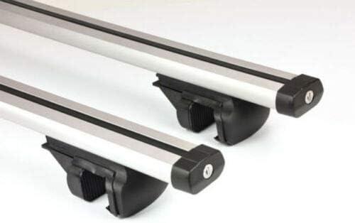 Huini Barras portaequipajes de Techo de Aluminio con Cerradura antirrobo para Skoda Octavia Estate de f/ácil instalaci/ón
