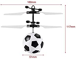 PTHTECHUS Bola Voladora, RC Flying Juguetes Built-in Shinning ...