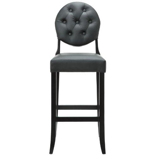Modern Contemporary Bar Stool Black by America Luxury - Stools