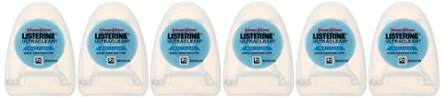 Listerine Ultraclean Dental Floss, Oral Care, Mint-Flavored, 30 Yards (Pack of 6) by Listerine (Image #5)