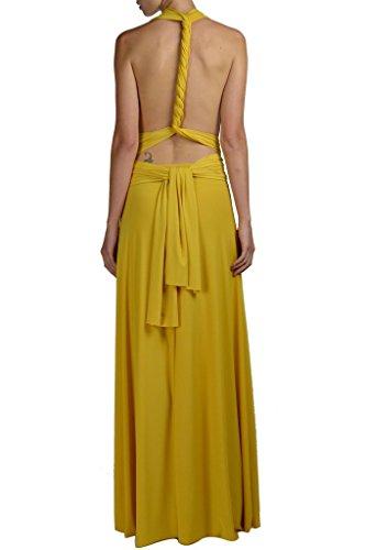 Vonni Transformer Xl Size Plus 3x Sizes Mustard Infinity Dress Von