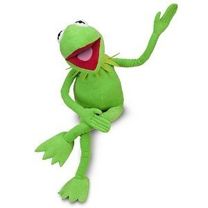 The Muppet Show Kermit the Frog  12 Plush Toy  AKA Froggy