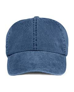 Anvil 145 6-Panel Pigment-Dyed Cap - Navy - One Size