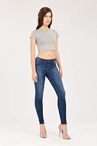 Femme GFLOCK Jeans 40 Bleu Bleu PzRXRqnA