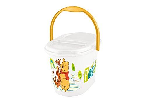Octubre Kids 11800100084 Winnie the Pooh pañal cubo, blanco