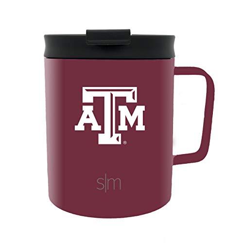 Simple Modern 12oz Scout Travel Mug Texas A&M ()