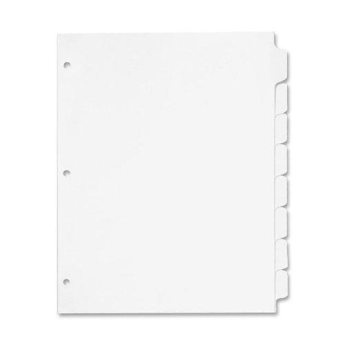 Erase Mylar Tab Dividers - 1