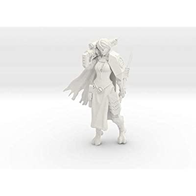 shapeways Greater Good Veteran Knight, White Natural Versatile Plastic: StarKiller-Studios: Toys & Games