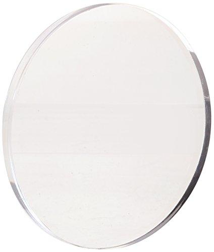 Acrylic Disc, Transparent Clear, 6