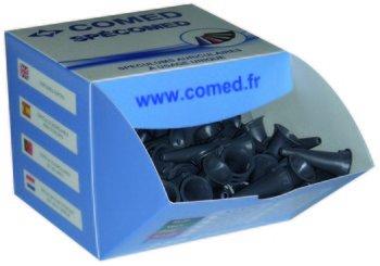Spéculums auriculaires à usage unique 2, 5 mm gris / boîte de 250 5 mm gris / boîte de 250 comed 2470025A