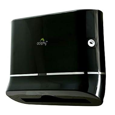 Dolphy Multifold Mini Hand Towel Paper Dispenser Black 6