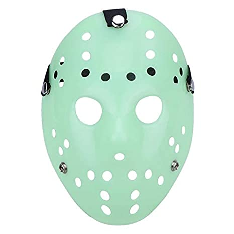 Green-Valley-113 - Mascara Jason Mask Halloween Mask Masquerade Horror Funny Mask Festival Parrty Supplies Costumes Party Favor Halloween Decor - - Amazon. ...
